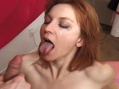 Redhead mature fucks in diff poses