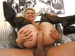 UK fairy with natural tits  gets some anal fun!